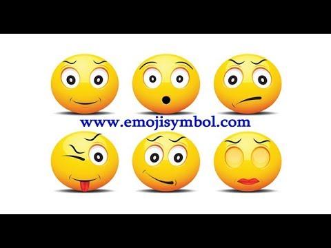 Facebook Emoticons 😍Copy paste emoticons facebook
