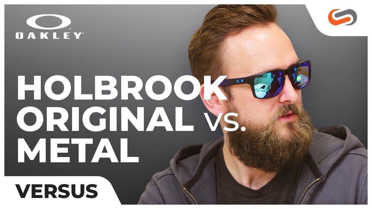 5fcbcca415 Oakley Holbrook vs. Holbrook Metal | SportRx - YouTube