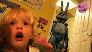 Real Fnaf Bonnie Vs Kids