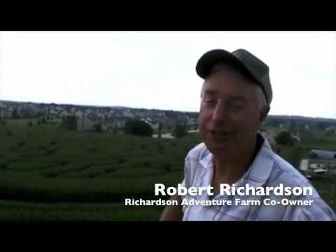 Richardson World's Largest Corn Maze Spring Grove McHenry County Illinois