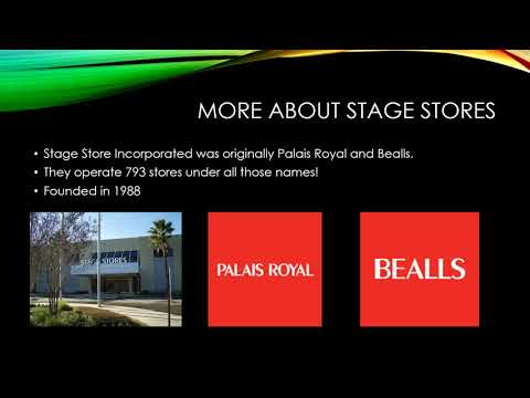 Youtube Assignment -Stage Stores