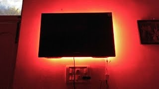 rgb led strip for tv backlighting how to