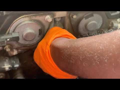 Replacing water pump