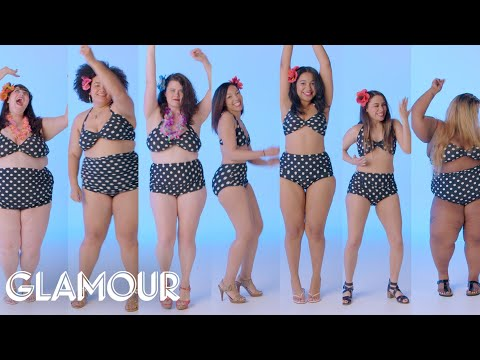 Women Sizes 4–30 Try on the Same Swimsuit | Glamour