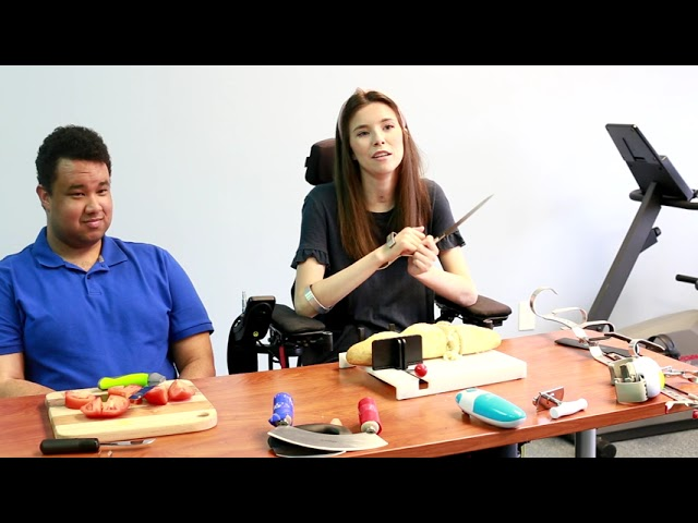 Adaptive Kitchen Tools: Demonstration Video