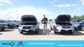 What's the difference between the 2017 and the 2018 Crosstrek