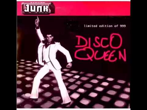 JUNK: Disco Queen [from the s.t CD single 1998 Rare limited edition. English power pop punk]