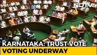 Karnataka Assembly Votes On Coalition Government's Trust Motion