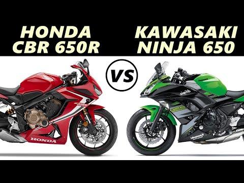 Honda CBR 650R vs Kawasaki Ninja 650-Comparison