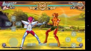 Saint Seiya Omega funcionando em android PPSSPP GOLD