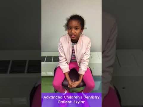 Advanced Children 39 S Dentistry Garden City Pediatric Dentist Skylar Video Testimonial Youtube