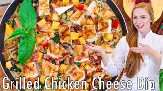 Creamy Grilled Chicken Skillet