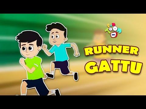 Runner Gattu   Gattu's Gold Medal   Animated Stories   English Cartoon   Moral Stories   PunToon