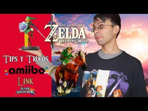 The Legend of Zelda: Breath of the Wild | Tips y Trucos | Amiibo Link Super Smash Bros