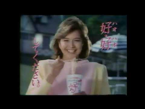 懐かしいCM 1985年 フローレンス芳賀(青い瞳の聖ライフ ベス・グリーン役)  エースコック好(ハオ)CM
