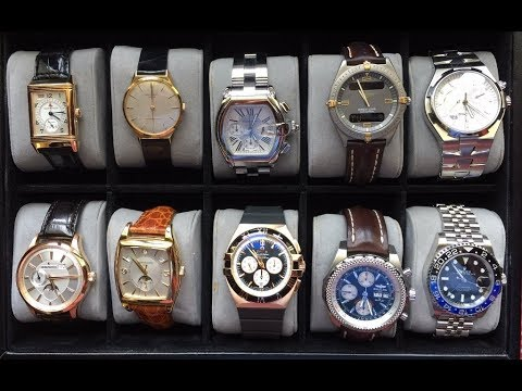 PAID WATCH REVIEWS - Inherited Wrist Watch Collection With Patek - JU75