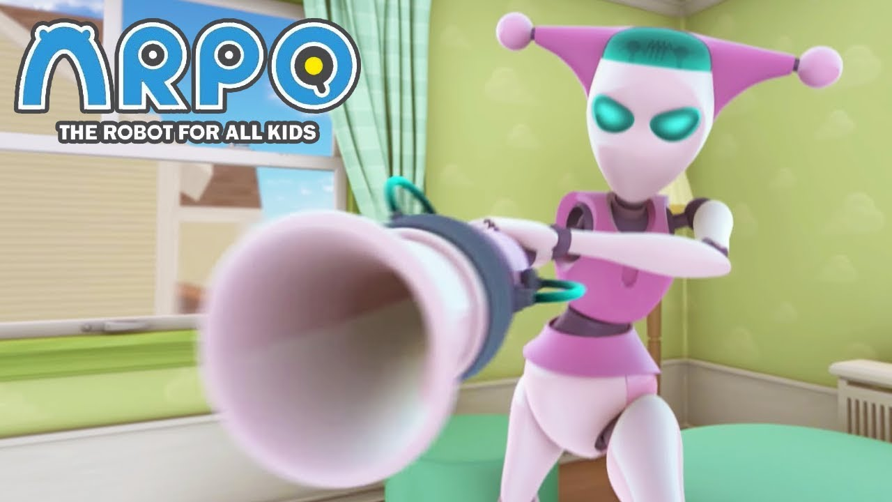 ARPO The Robot For All Kids - Suck Up The Mess | Compilation | Cartoon for Kids