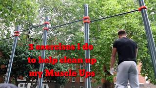 Clean up Muscle Up Exercises