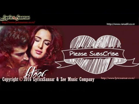 Tere Liye Full Song With Lyrics – Fitoor | Sunidhi Chauhan, Jubin Nautiyal