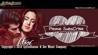 Tere Liye Full Song With Lyrics – Fitoor | Sunidhi Chauhan, Jubin Nautiyal
