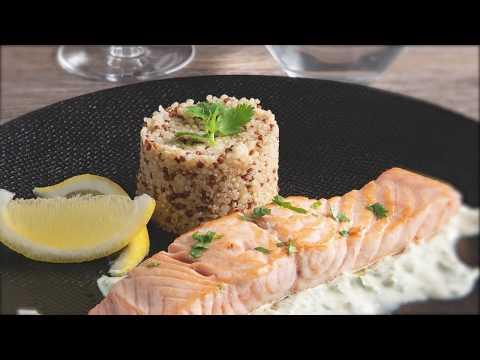 recette---saumon-poêlé,-sauce-crémeuse-lime-et-coriandre