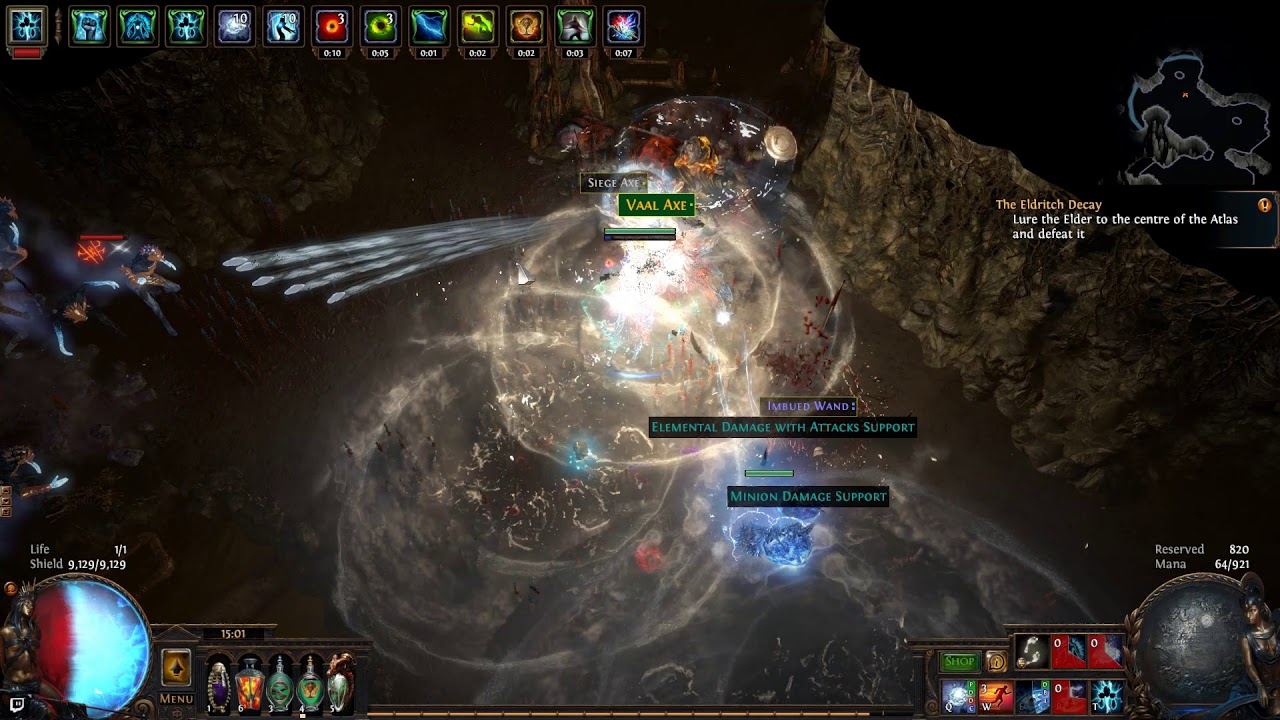 path of exile 3 5 ci facetank winter orb occ deathless. Black Bedroom Furniture Sets. Home Design Ideas