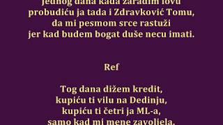 tekst pesme za nove zvezde granda 2013 - dizem kredit