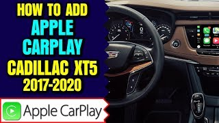 Cadillac XT5 Apple CarPlay - Add Apple CarPlay Android Auto to Cadillac CUE XT5 2017-2020 HDMI Input