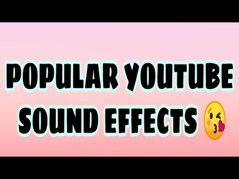 POPULAR YOUTUBE SOUND EFFECTS  || Cez Erika A  Ando (BISDAK