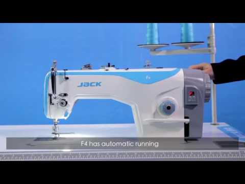 JACK F40 INDUSTRIAL SEWING MACHINE Demo LOWEST PRICE CALL Delectable How Much Is Industrial Sewing Machine