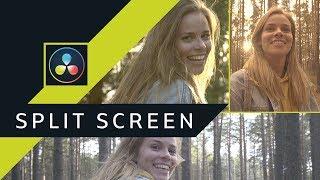 Split Screen - Pomoc w łączeniu obrazu z różnych kamer ▪ DaVinci Resolve #42 | Poradnik ▪ Tutorial
