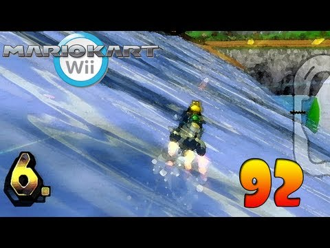 Let's Play Mario Kart Wii Against The World Part 92 - Epic Koopa Action