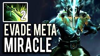 NEW EVADE ARCANA JUGGERNAUT META 7.04 Full Slot & 28 KILLS by MIRACLE- 9k MMR Dota 2