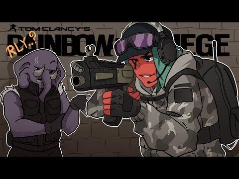 ELA'S SHOTGUN IS GOOD?! | Rainbow Six: Siege (w/ Gorillaphent) R6 White Noise
