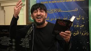 Haci Zahir Mirzevi / Digah kendi / Xanim Zehra meclisi - Eyyami Fatimiyye 2019
