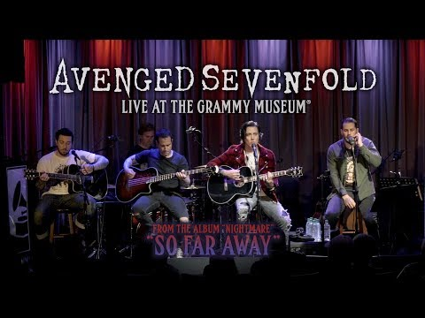 SHROOM - AVENGED SEVENFOLD 'So Far Away' Acoustic [Video]