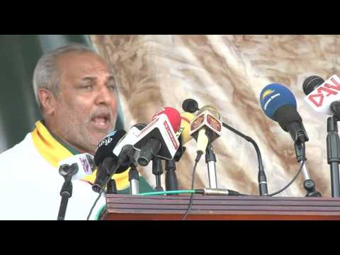 SLMC Leader, Minister Rauff Hakkem's Speech at Trincomalee Y