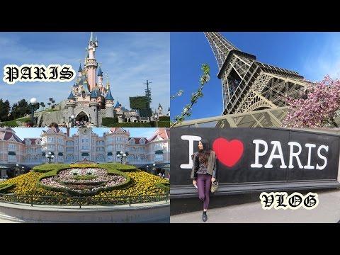 Paris France Vlog: Disneyland, Eiffel Tower, Notre Dame, Louvre Museum, Champs-Elysees