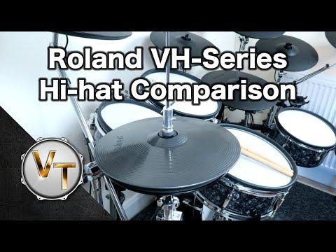 Roland VH-11, 12 & 13 Hi-hat Comparison