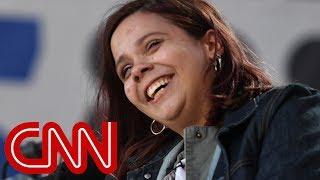 Parkland survivor Sam Fuentes vomits during gun protest speech