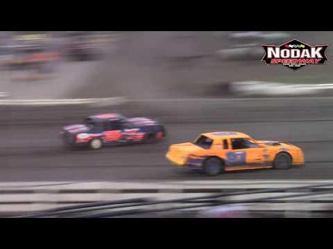 Nodak Speedway IMCA Stock Car A-Main (5/13/18)