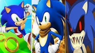 Sonic Dash vs Sonic Boom vs SONIC EXE Round 2
