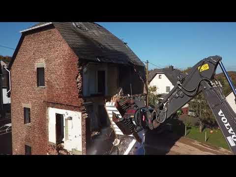 Fabulous Abriss einer Scheune von Hubert Lindenbuß in Weseke - YouTube ST08