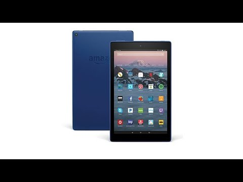 Fire HD 10 32GB QuadCore HandsFree Alexa Tablet with Cas...