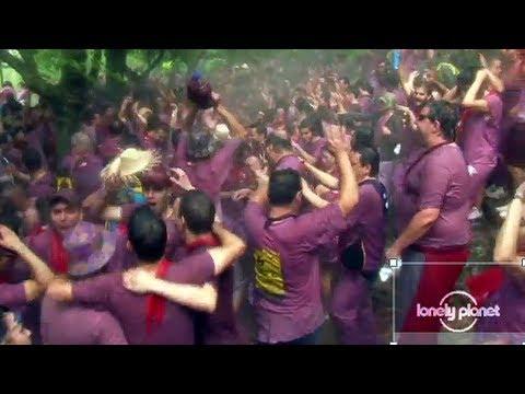 Batalla Del Vino, Spain - Lonely Planet travel video