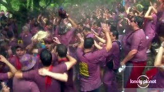 Batalla Del Vino, Spain - Lonely Planet travel video