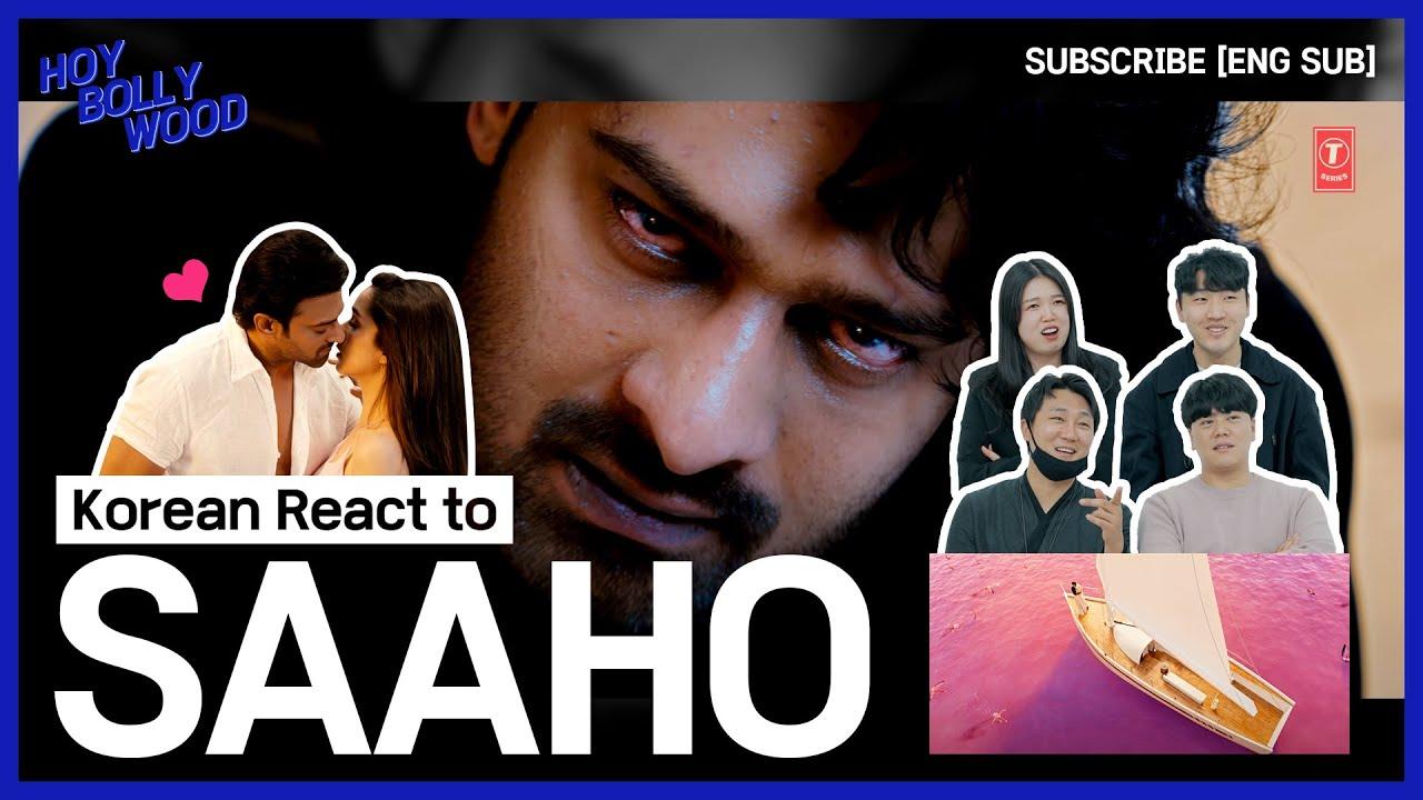 Download Korean React to 'SAAHO' Bollywood movie trailer[ENG SUB]