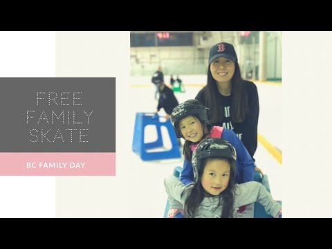 Free Ice Skating - BC Family Day 2018