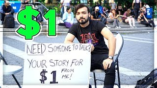 New Yorkers Share their Story for a Dollar - Part 5