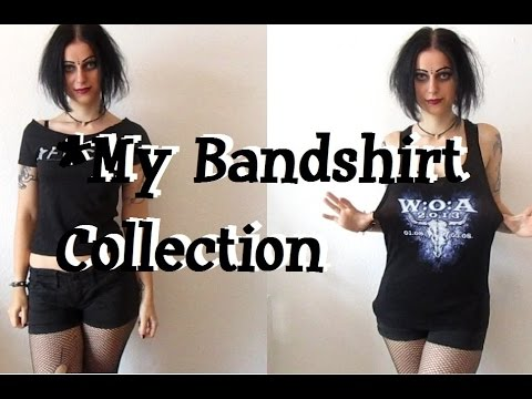 My Bandshirt Collection! Alternative, Metal, Rock, Industrial